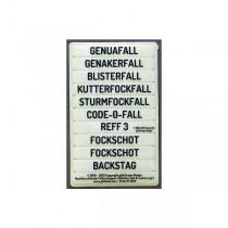 Fallenstopper-Etiketten Erweiterungsset 2