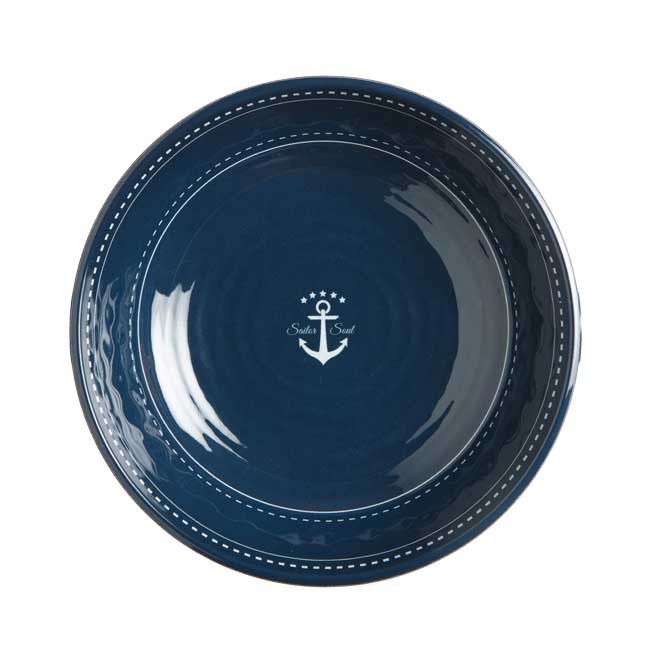 "Marine Business Suppenteller ""Sailor Soul"" Melamin 22 cm"