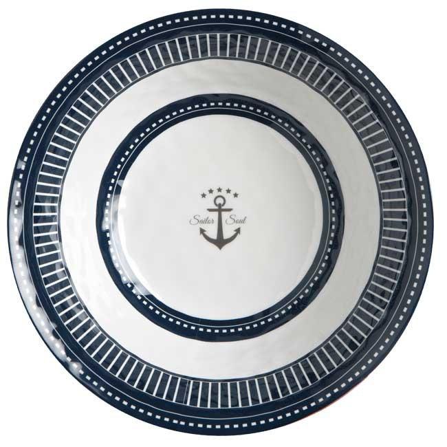 "Marine Business Salatschüssel ""Sailor Soul"" Melamin 27,5 cm"