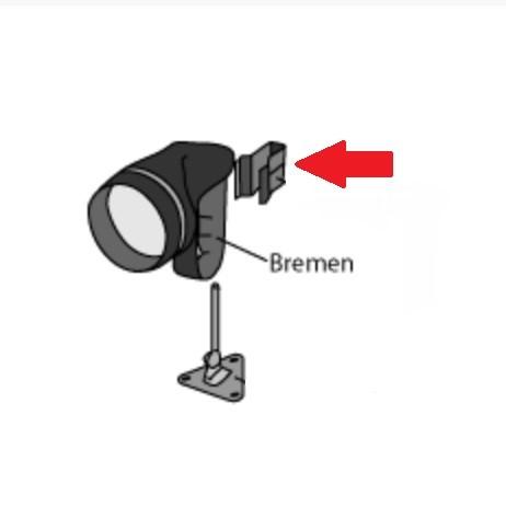 1043 Aqua Signal Klemmhaltung für Handscheinwerfer Bremen