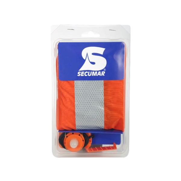 SECUMAR Ultra 170 Zubehörpack mit Spraycap und Seenotlicht