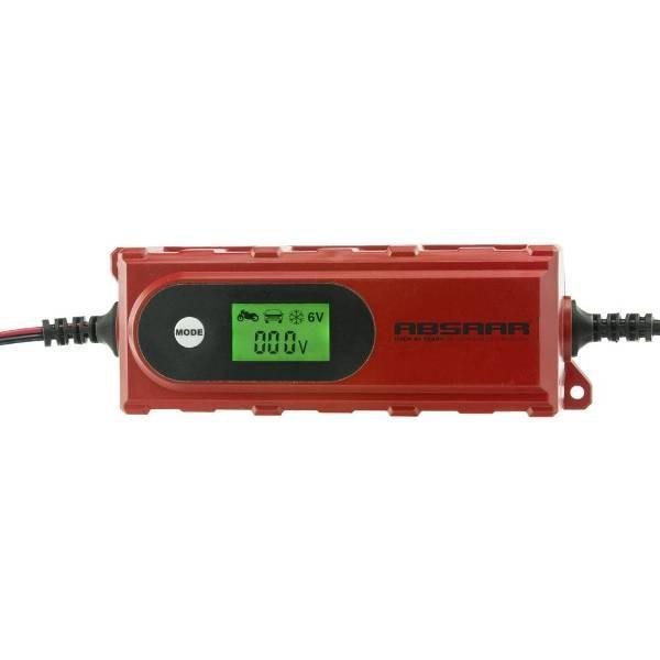 Absaar AB-4 vollautomatischs Batterieladegerät