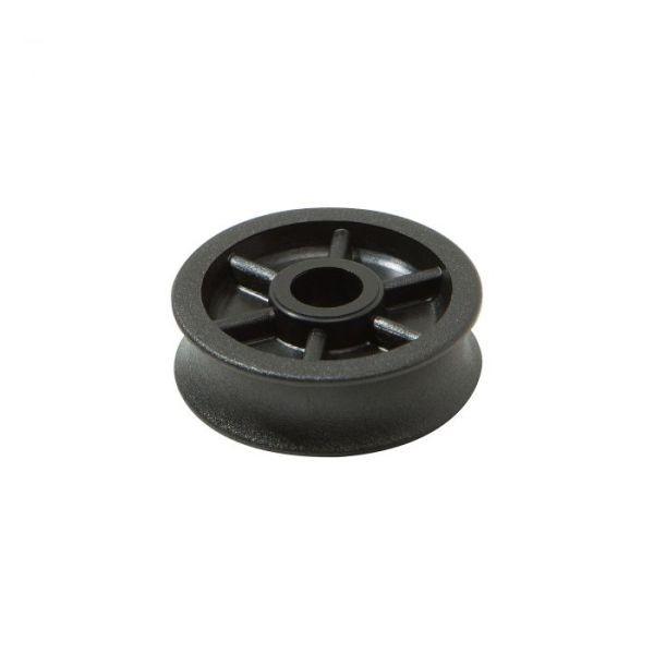 HS Seilrolle, Rollen-Ø 22 x 10,5 mm, Tau 8 mm