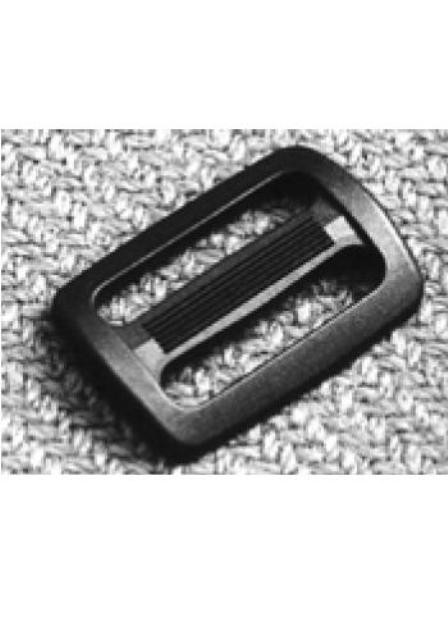 Kunststoff-Gurtschnalle, schwarz, 25mm