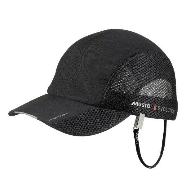MUSTO fast dry Technical Cap schwarz