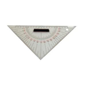 Kursdreieck , Hypotenuse 27 cm, 2 mm stark