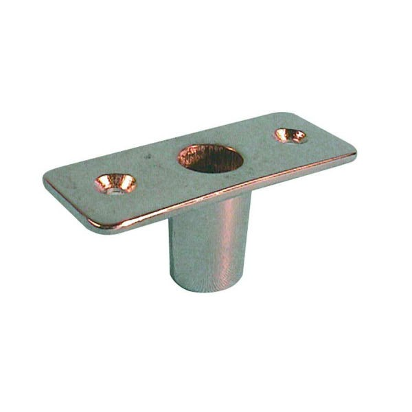 Rudergabelbuchse / Einlassbuchse messing 12 mm