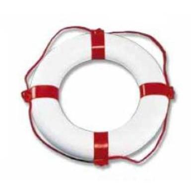 Rettungsring weiß/rot 650 x 400 mm