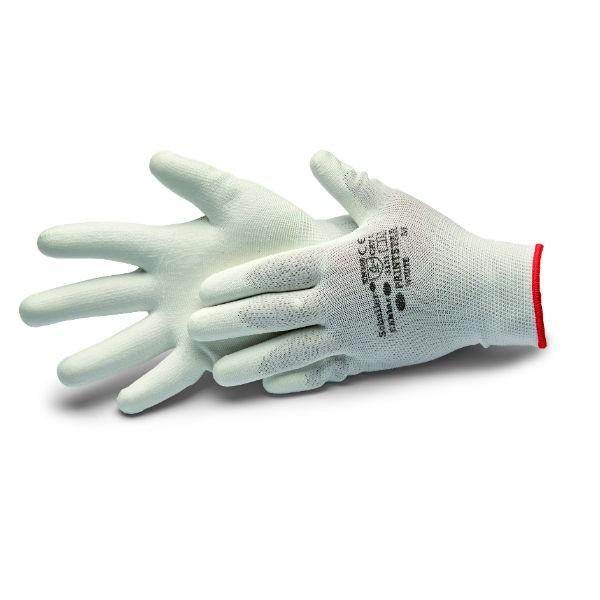 Schuller Eh'klar Paint Star Handschuhe für Malerarbeiten weiß