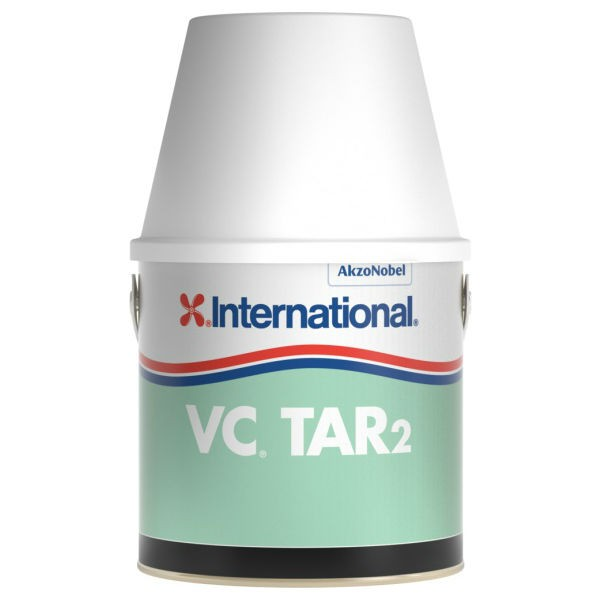 International Farben.Vc Tar 2 Schwerz Oder Weiß Ultramarin Bootszubehör Und