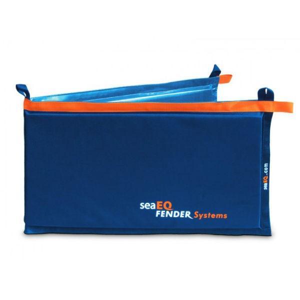 seaEQ Langfender 140 x 40 cm blau
