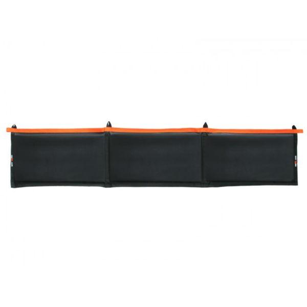 seaEQ Langfender XL 210 x 45 x 3 cm schwarz