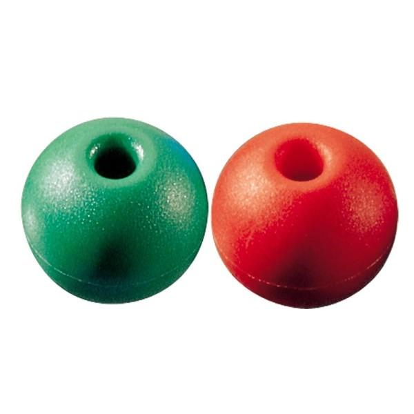 Ronstan Griffkugeln Ronstan rot oder grün für Tauwerk 5 oder 6 mm