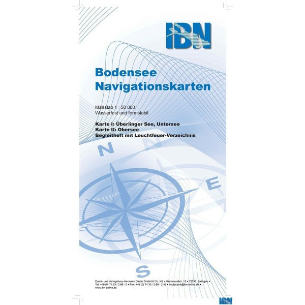 Bodensee-Navigationskarte IBN-Verlag