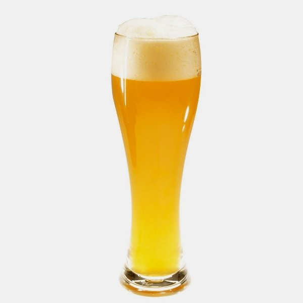 Weißbierglas aus Polycarbonat, klar, 0,5 l