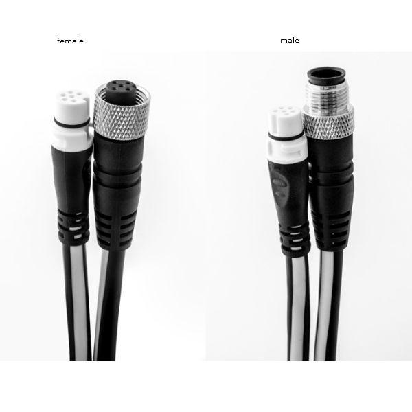 Raymarine SeaTalkNG Spur (female) auf DeviceNet (female) Adapterkabel, 120mm