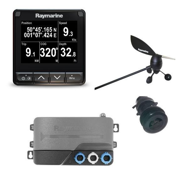 Raymarine i70s Tridata Paket inkl. Instrument mit Masteinheit und DST 800 Geber
