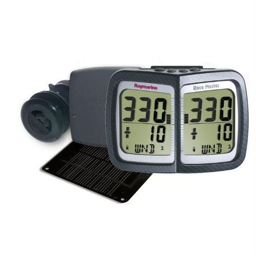 Raymarine Micronet Race Master-System, inkl. Solarpanel, Durchbruchgeber f. Geschwindigkeit, Tiefe u. Kompass