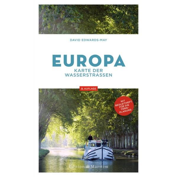 EUROPA Karte der Wasserstraßen, David Edwards-May