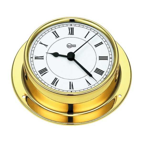 Barigo Mini Quarz-Uhr  Ø 70 mm Messing