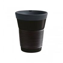 Kahla cupit Trinkbecher To Go softblack/black 0,35 l