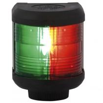 Aqua Signal Serie 40, Zweifarbenlaterne, Gehäuse schwarz, 12 V