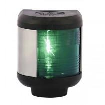 Aqua Signal 40, Steuerbordlaterne, schwarzes Gehäuse, 12 V