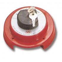 Batteriehauptschalter abschließbar