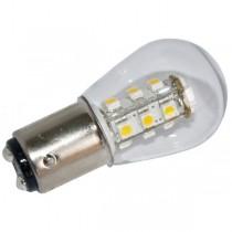 LED-Leuchtmittel mit Bajonettsockel, BA15 D