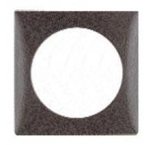 Philippi Abdeckrahmen für Wipp-Schalter schwarz