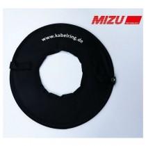 Mizu Kabelring, Aufrollhilfe für Landanschlußkabel schwarz