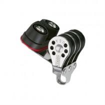 Harken 6mm Micro-Dreifachblock mit Carbo-Cam H230