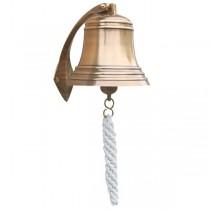 Glocke mit Halterung verschiedene Größen messing