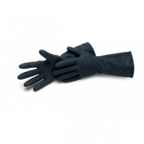 Industriehandschuh schwarz, Latex, Nitrofest