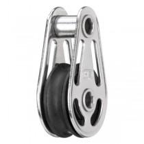 HS Einfach-Gleitlagerblock mit Hohlachse 6 mm