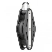 2598 HS Einfach-Gleitlagerblock mit Bügel und Hundsfott, 12 mm