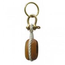 Schlüsselanhänger ,,Holzblock''
