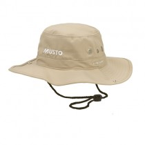 MUSTO Fast Dry Brimmed Hut sandstone