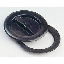 Inspektionsdeckel mit Bajonettverschluß, Öffnungs-Ø 100 mm , Gesamt-Ø 145 mm
