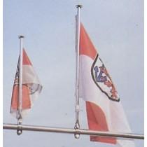 Flaggenstock, Länge/mm 400