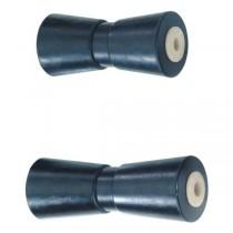 HS Kielrollen, Bohrung: 16 mm, Aufnahme 200 mm