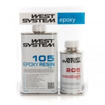 WEST SYSTEM - 105 Harz + 206 langsamer Härter, 6kg