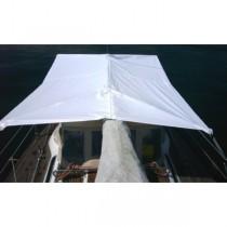 SWI TEC - Fixtop Sonnensegel Standard weiss 190 x 230 cm