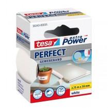 tesa® extra Power Perfect Gewebeband weiss 38 mm