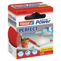 tesa® extra Power Perfect Gewebeband rot 38 mm