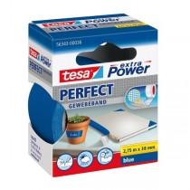 tesa® extra Power Perfect Gewebeband blau 38 mm