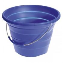 Silikon Falteimer blau 7,2  Liter