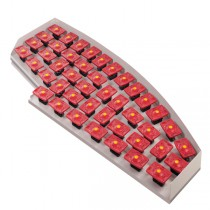 Calypso Schwingferder-System De Luxe, rot