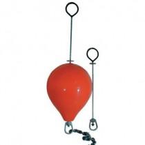 Anlegeboje 36mm Durchmesser Rot, Länge 743mm