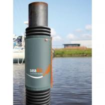 seaEQ Dalbenfender für Schwimmhülse 92 x 80 cm, grau